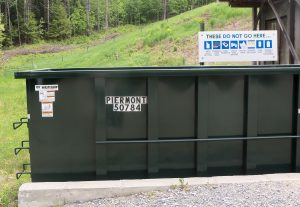 New Dumpster w: Sign 2