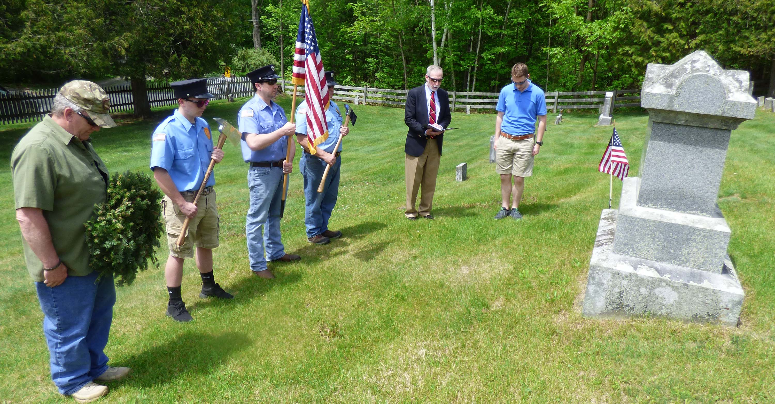 memorial day observances the town of piermont nh